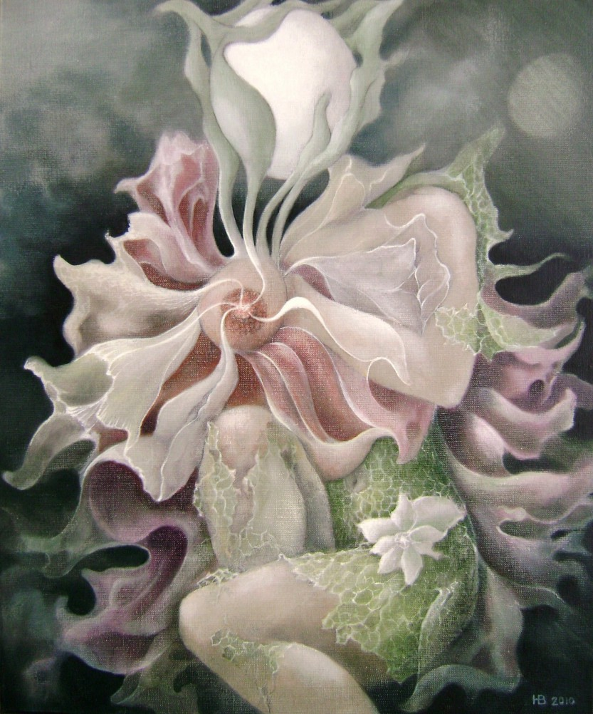 Flora incognito, 60x50 cm, oil on canvas, 2012.