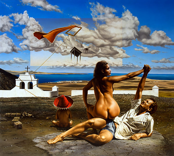 Triumph, 98×108 cm, oil on canvas, 1985.